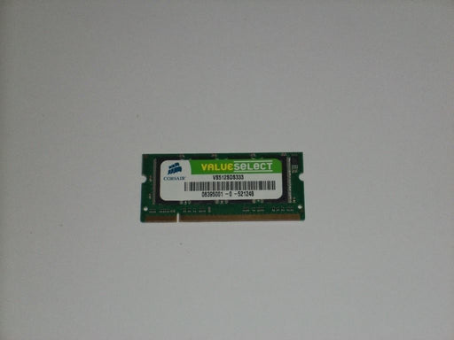 Corsair 512 MB PC2700 DDR-333 333 MHz Laptop Memory RAM VS512SDS333