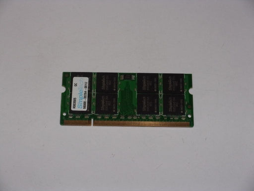 SimpleTech 1GB PC2-5300 DDR2-667 667MHz Laptop Memory RAM M2GSP5G3I4436I9C52