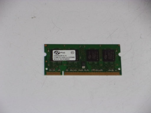 PSC 512 MB PC2-4200 DDR2-533 533MHz Laptop Memory Ram AS6E8E63B-5C1A