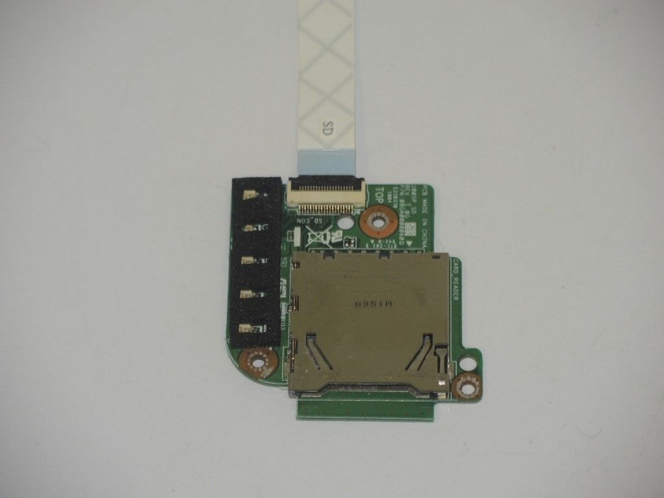 Asus Eee PC 1001P Card Reader Board w/Cable 60-OA1LCR2000-A01 69NA1LC11A01-01