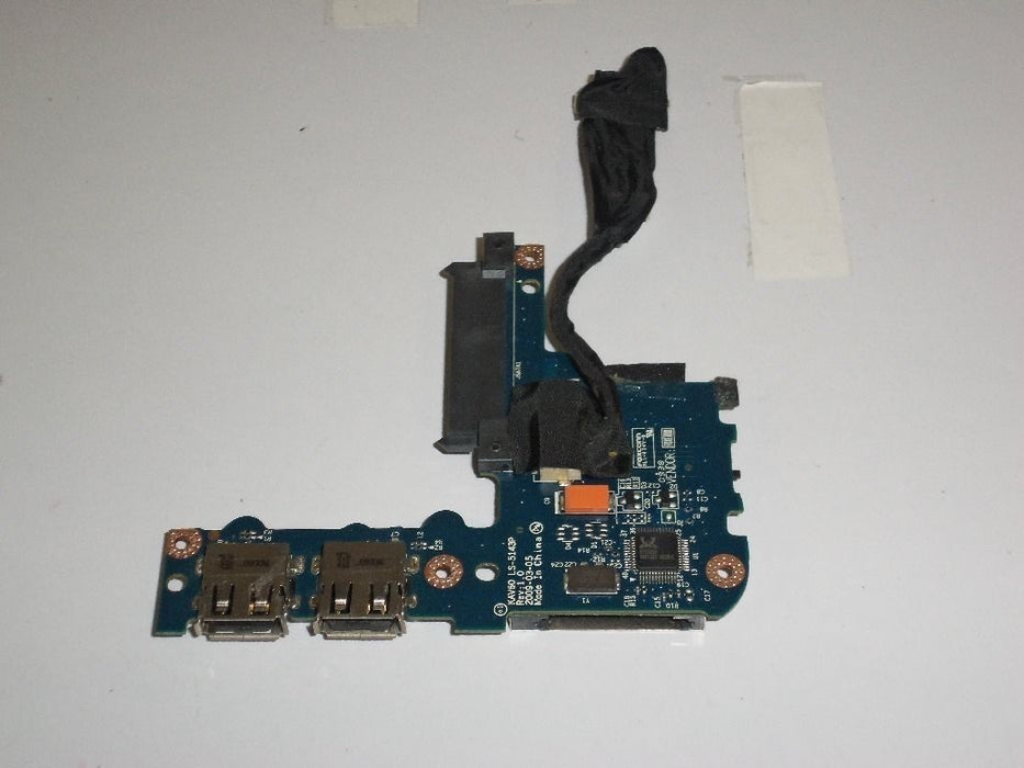Acer Aspire One D250 Card Reader USB Port Board w/cable LS-5143P