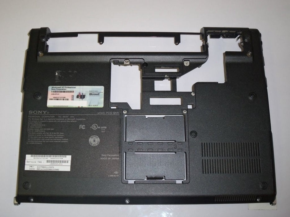 Sony Vaio VGN-SZ Series Bottom Case 2-663-385