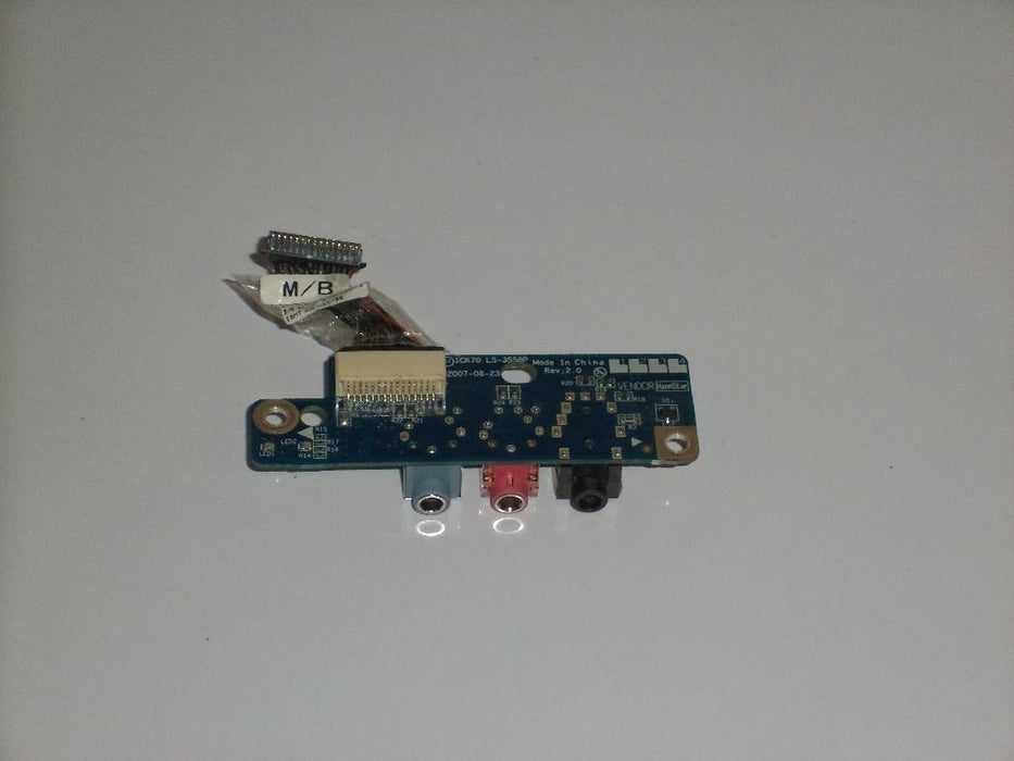 Acer Aspire 7520 Audio Board w/Cable LS-3558P
