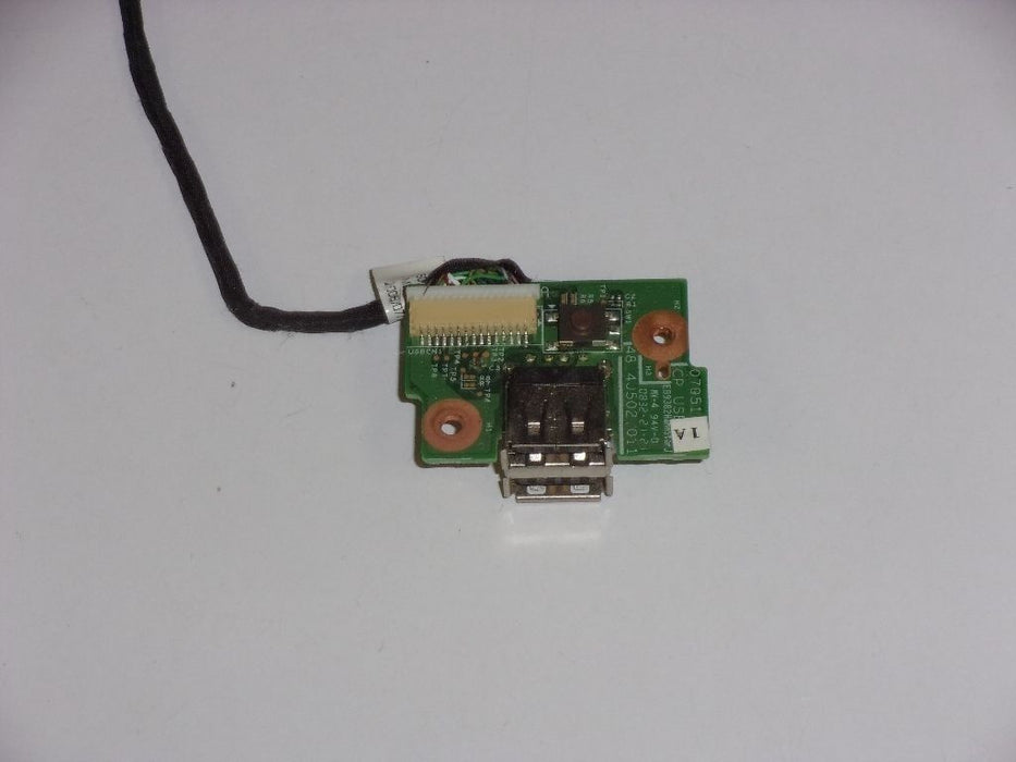 Acer Aspire 5330 Power Button USB Port Board w/cable 48.4J502.011