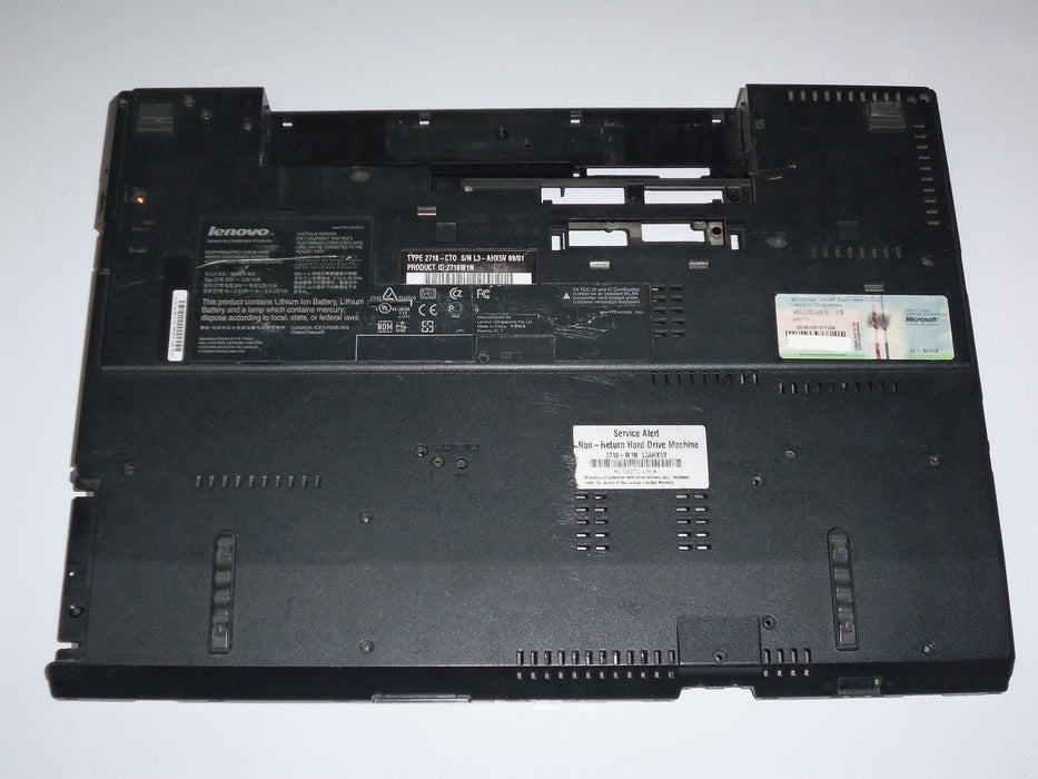 "IBM Lenovo ThinkPad R500 Bottom Case 15.4"" 45N4177"