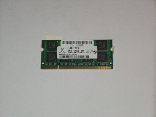 Netlist 1GB PC2-5300 DDR2-667 667MHz Laptop Memory RAM NL812642407F-D53MIB