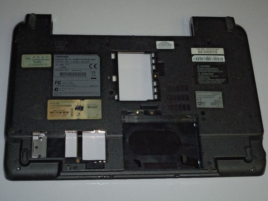 Toshiba Satellite M115 Bottom Case V000070420