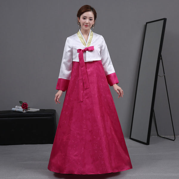 South Korean Traditional Costume Women Hanbok Female Asian Clothing for Stage Perfoamance Korean Ancient Court Clothes 89