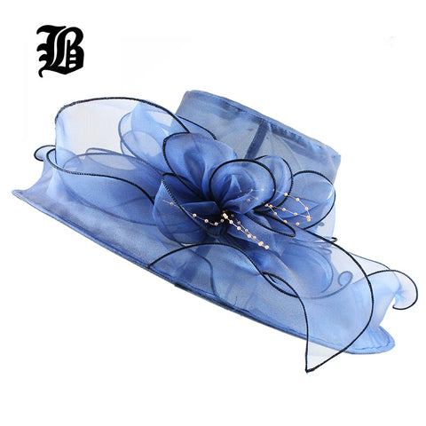 Floral Church Hats For Women