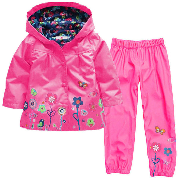 Children Boys Clothes Kids Girls Clothes Dinosaur Jacket+Pant Outfit Suit For Boy Clothing Sets