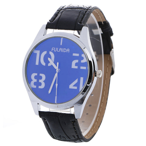 Neutral Simple Fashion Leather Quartz Wrist Watch