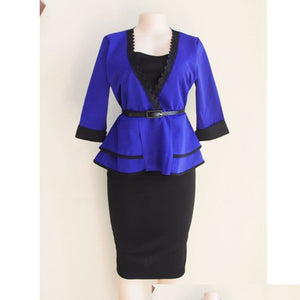 African clothes women tops skirts set suits outfit dresses two 2 piece set for church