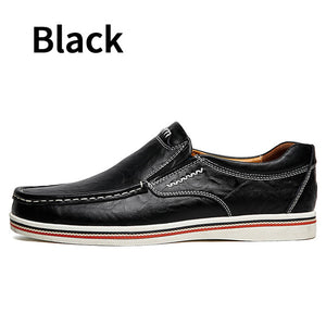 BIMUDUIYU Hot Sell Mens British Style Boat Shoes Minimalist Design Leather Men Dress Shoes Loafers Formal Business Oxfords Shoes