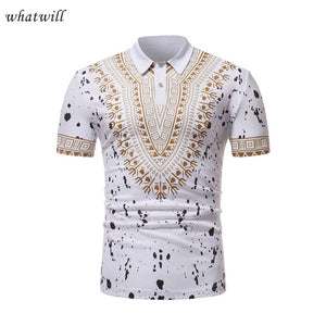 Casual wear fashion africa clothes polo shirts 3d printed clothing dashiki african dresses for women/men