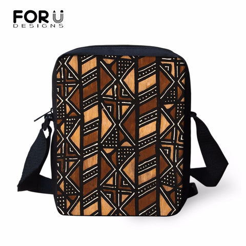 FORUDESIGNS African Style School Bags for Boys Girls Kids Baby Schoolbag Children Book Bag Mochila Child Kindergarten Mini Bag