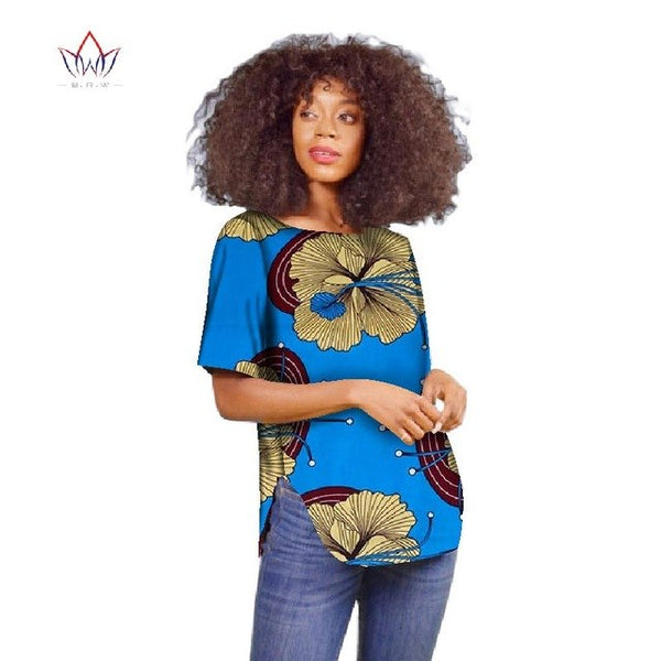 Africa clothes woman New Dashikis 6xl africa clothing Women traditional african clothing cotton Top plus size