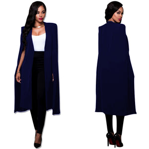 African  New Arrival Limited Spandex 2018 Autumn New Style Long Color Cloak Fashion African Women Clothing