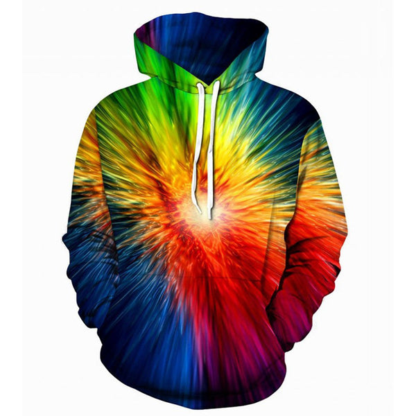 Lovers Autumn Winter rainbow African 3D Print Long Sleeve Dashiki Hoodies Sweatshirt sudaderas para hombre con capucha pullover