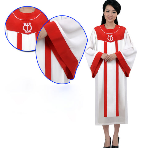 Vatican Jerusalem Church Hymnals clothes Catholic Gown Robe  Catholic hymn singing Christian religious clothing Gown Robe