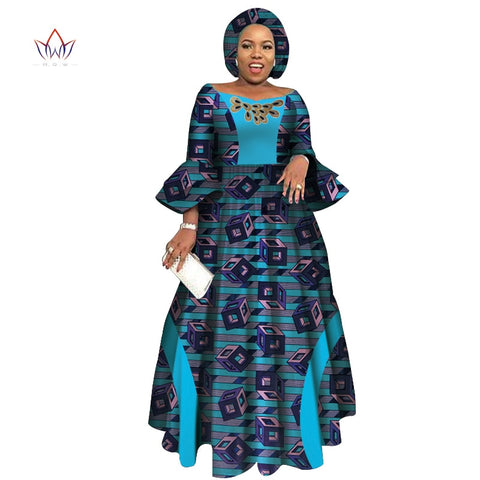 African Dresses for Women Long Sleeve Dresses for Women  Casual Date Dashiki African Women Dresses