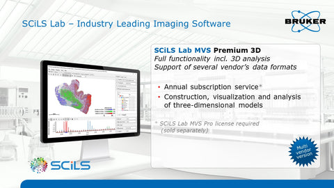 SCiLS Lab MVS Premium 3D Software Multi-Year License