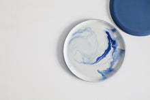 Pigments & Porcelain mini plate - cobalt blue