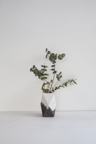 Concrete Marbled Vase