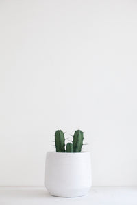 White Ceramic XL Planter