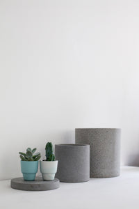 Concrete Pot Natural - Medium