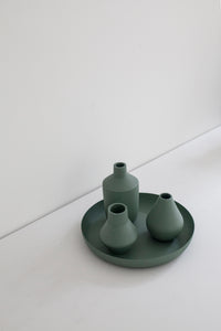 Nimble Bottle Vase - Mint Green