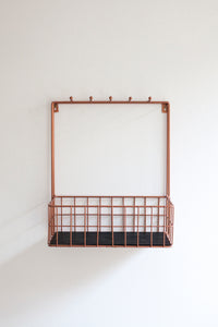 Basket Rack - Copper