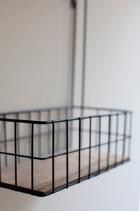 Basket Rack - Black