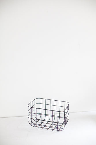 Basket Grid- Black - S