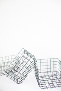 Basket Grid - Black - Set