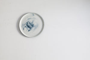 Pigments & Porcelain mini plates - Black