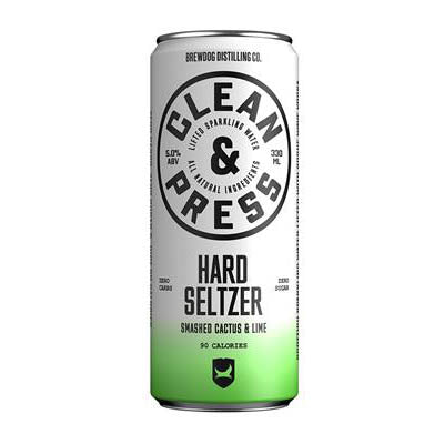 Brewdog - Hard Seltzer Cactus and Lime