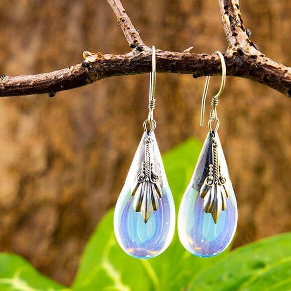 Hanging Earrings River 925s Silver