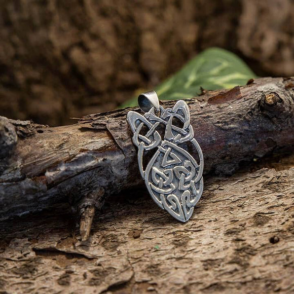 Celtic Knot Pendant Eternal 925s Silver