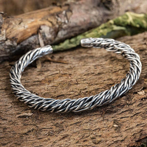 Armbånd Bangle Mesh 925s Sterling Sølv