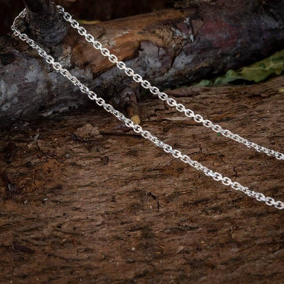 Necklace Anchor Chain 925s Silver 2mm