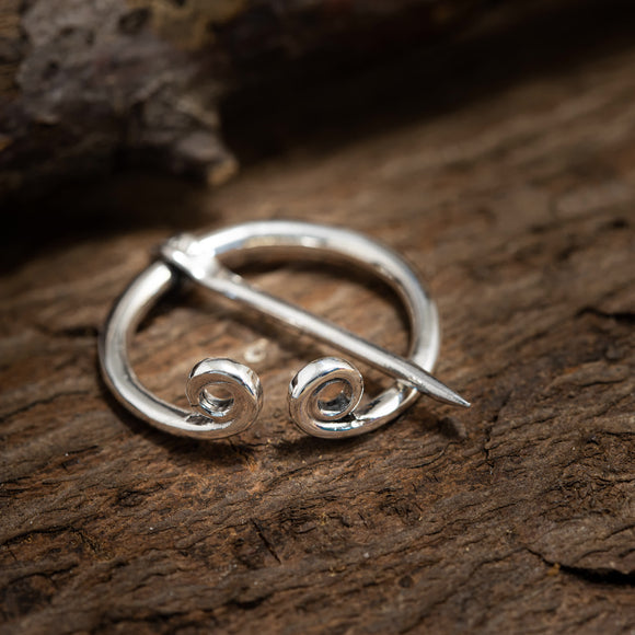 Brooch Ring Needle Small 925s Silver