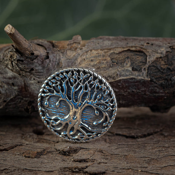 Amulet Yggdrasil Life Tree Pendant 925s Sterling Silver