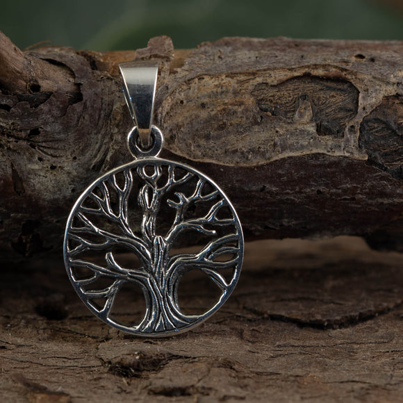 Yggdrasil Tree of Life Pendant Unuk 925s sterling silver