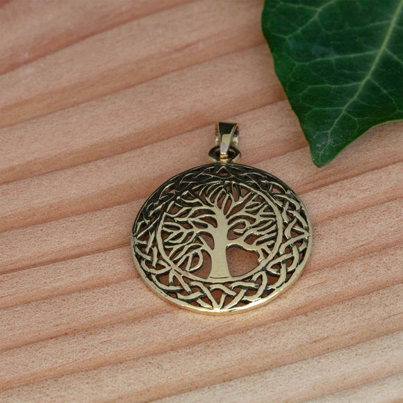 Yggdrasil Tree of Life Pendant Qath Bronze
