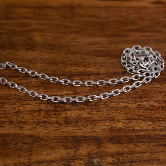 Necklace Anchor Chain in Steel 4mm