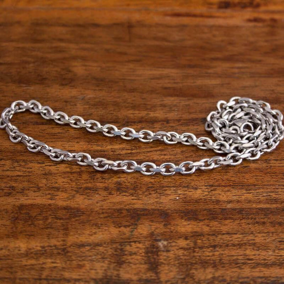 Necklace Anchor Chain in Steel 5mm