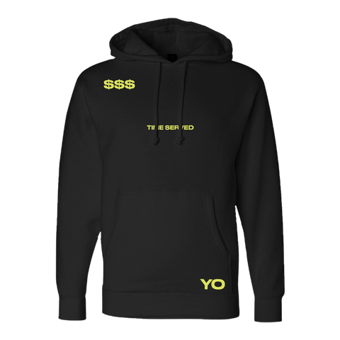 Time Served Black Hoodie + Deluxe Digital Album