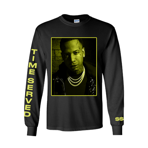 Time Served Portrait Black Long Sleeve + Deluxe Digital Album