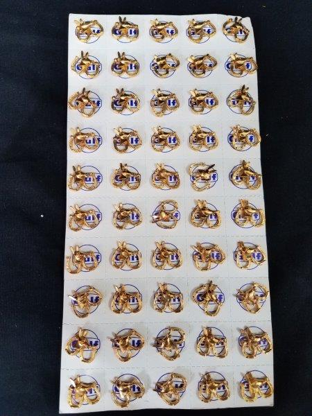 1964 Gulf Oil Republican Presidential Election Pins