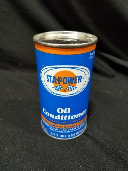 STA-POWER 5 oz Oil Conditioner Full Metal Cans